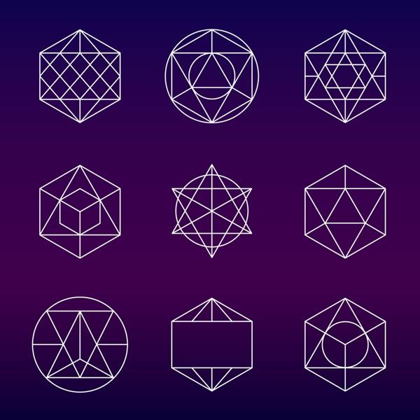 Abstract logo graphics Vector EPS