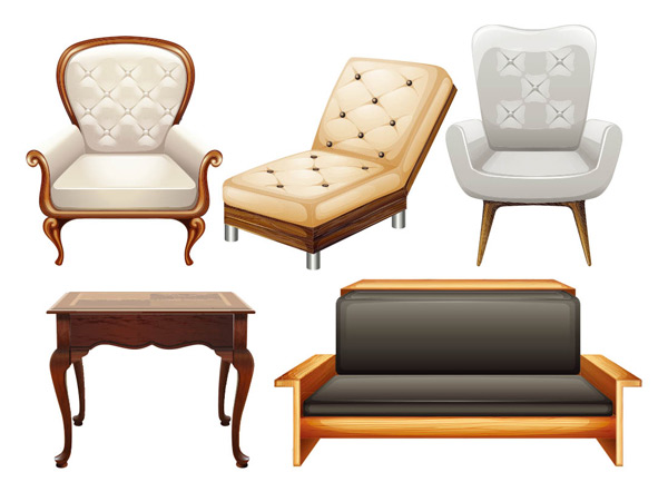 Chair sofa Chair Vector AI