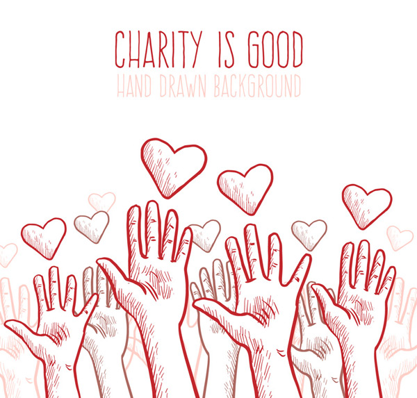 Charity poster Vector AI 01