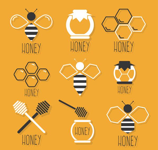 Honey an element icon Vector AI