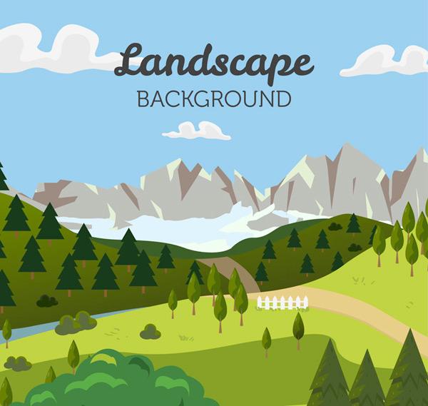 Landscape Vector AI