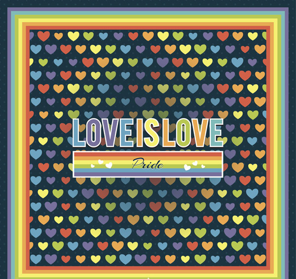 Love is love paintings Vector AI