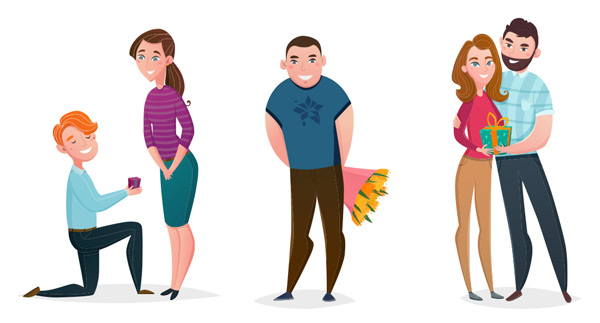 Proposed characters Vector EPS