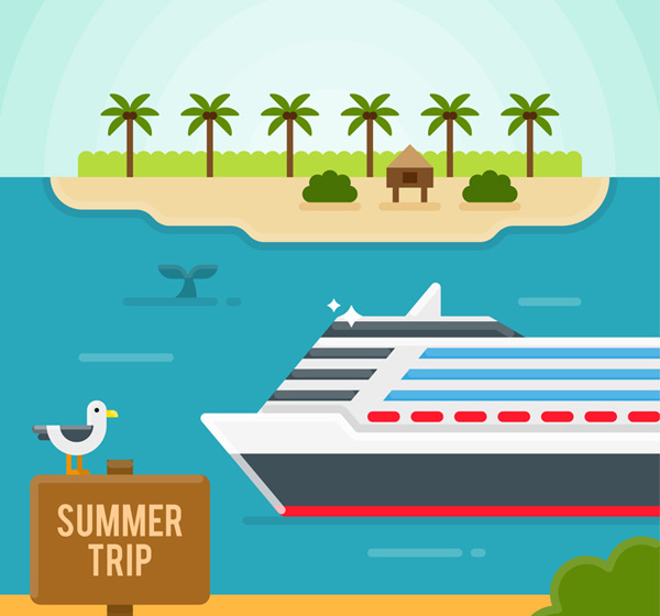 Resort and cruise Vector AI