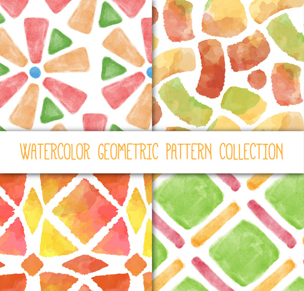 Seamless geometric pattern background Vector AI