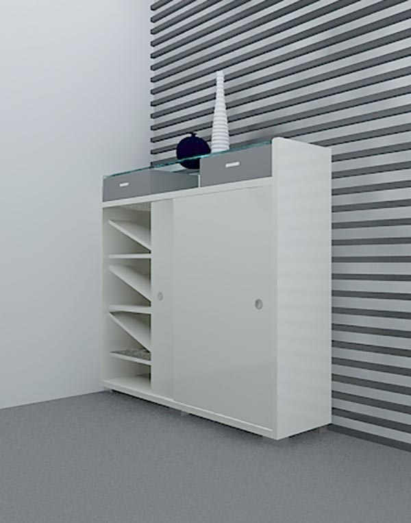 Shoe cabinet 3D Model