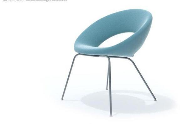 Single Chair 3D Model