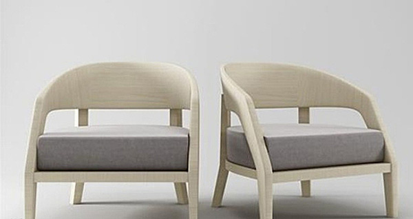 Single Seat Sofa 3D Models