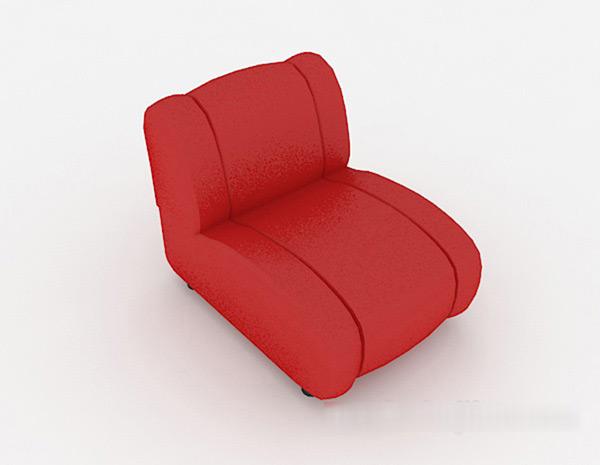 Single Sofa 3D Models 02