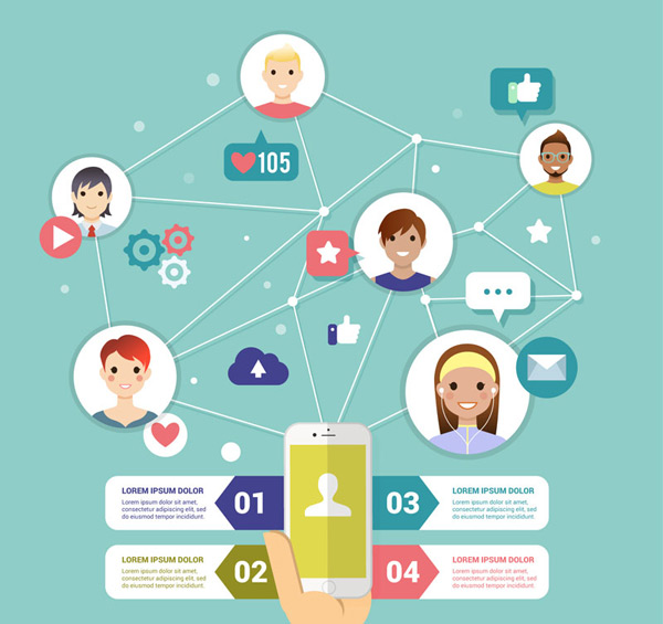 Social network information Vector AI