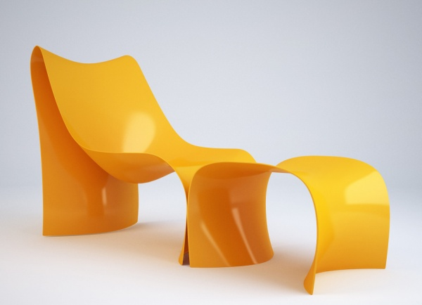 Special-Shaped Chair 3D Model