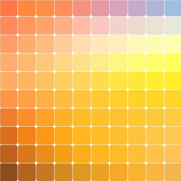 Square mosaic gradient background Vector AI