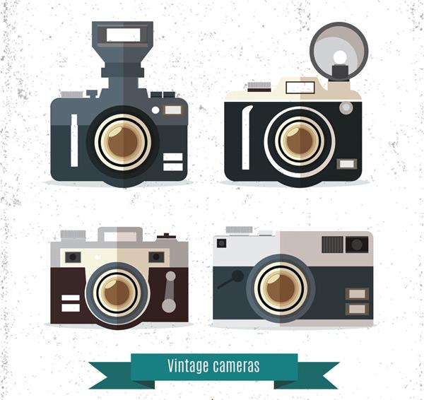 Vintage camera Vector AI