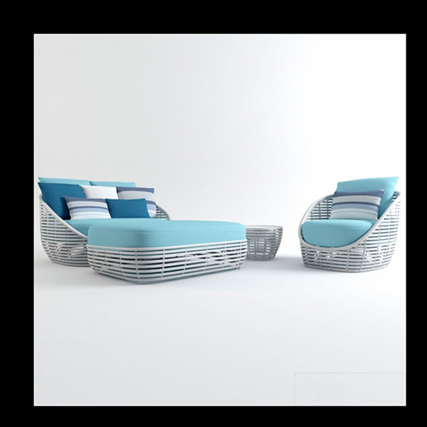 Woven Furniture 3D Models