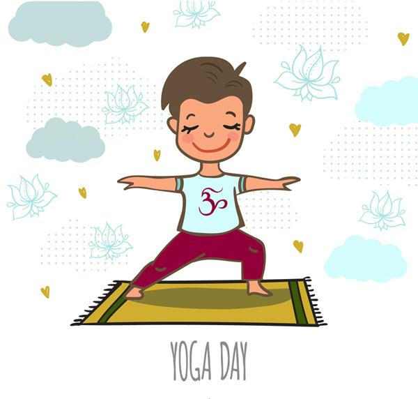 Yoga man Vector AI