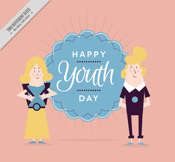 Youth Card vector