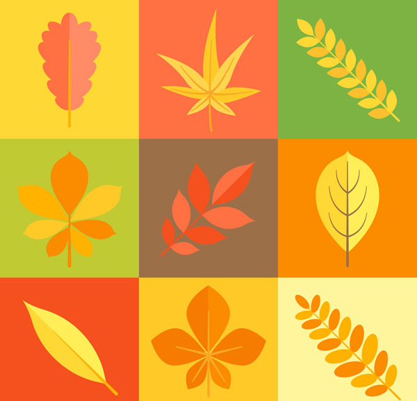 Autumn leaves Vector AIs