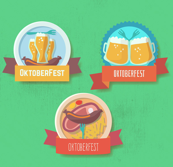 Beer label Vector AI