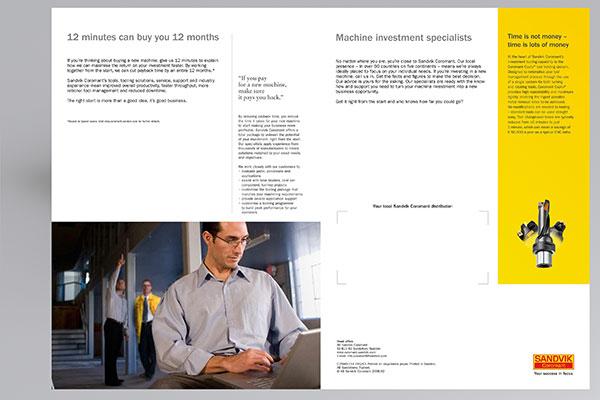 Brochure sample PSD 01