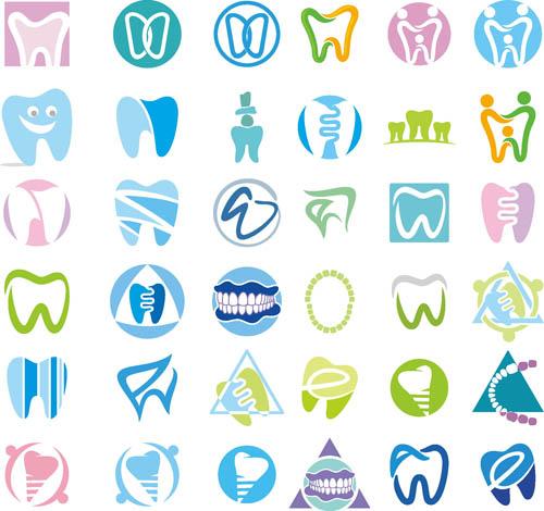 Care dental topics Vector AI 03