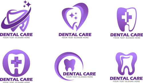 Care dental topics Vector AI