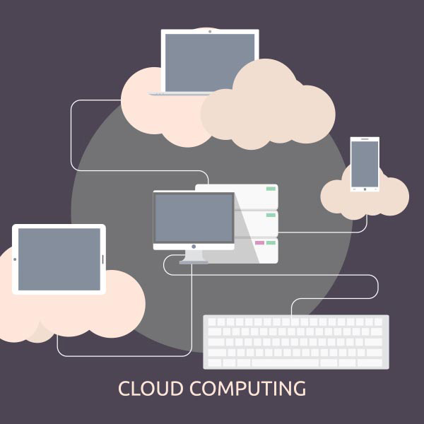 Cloud storage Vector EPS