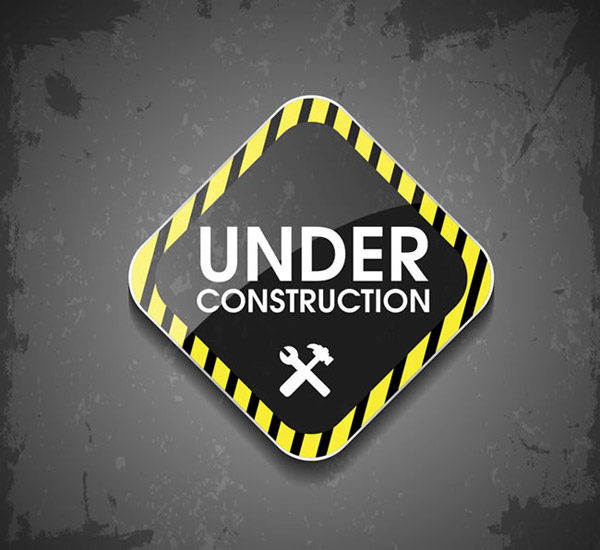 Construction signs Vector AI
