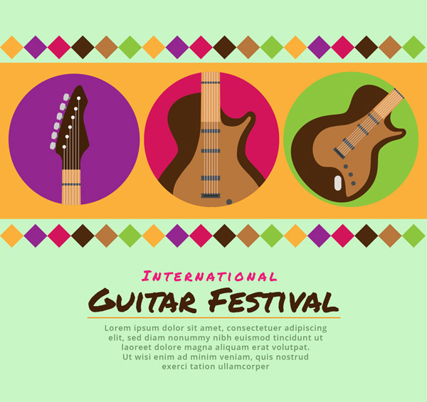 eric clapton crossroads guitar festival poster vector ai for free download free vector. Black Bedroom Furniture Sets. Home Design Ideas