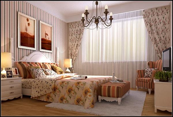 Garden Master Bedroom 3D Model