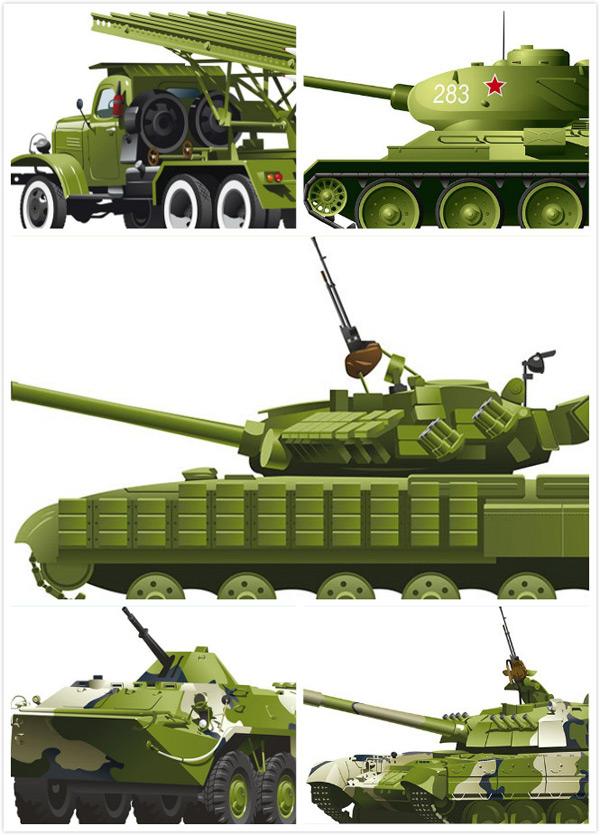 Military mechanical Vector EPSs