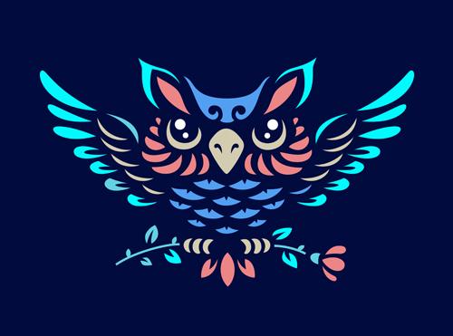 OWL element symbol Vector EPS 01