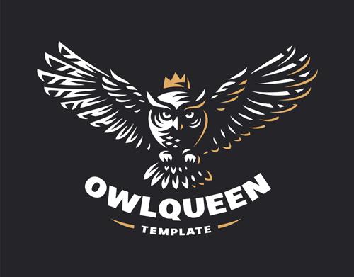 OWL element symbol Vector EPS 05