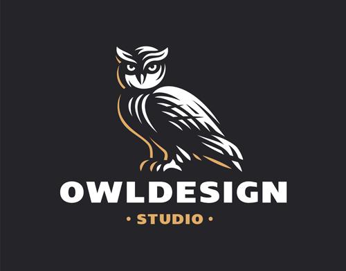 OWL element symbol Vector EPS 06