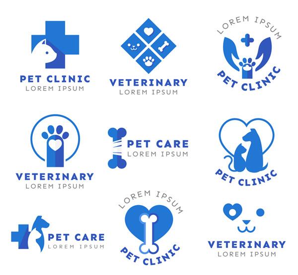 Pet Hospital logo Vector AI