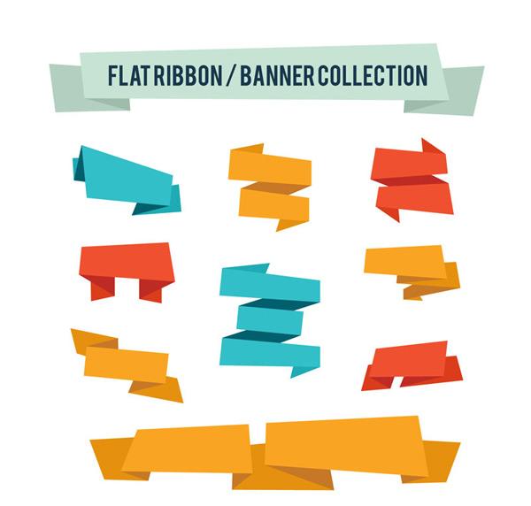 Ribbon banner Vector AI