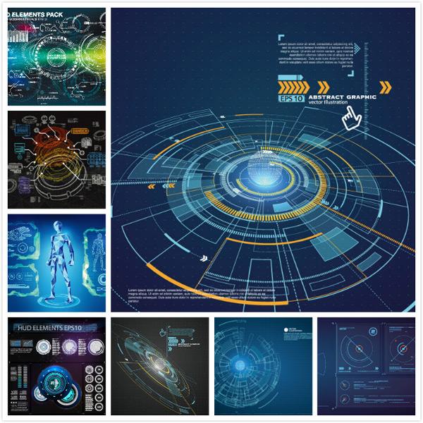 Scientific graphics Vector EPS