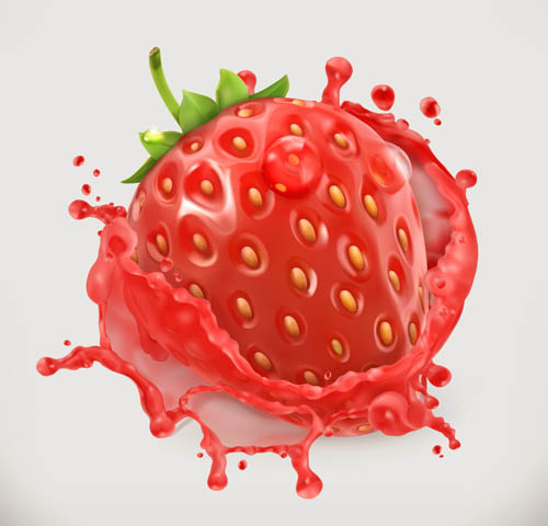 Strawberry Vector EPS